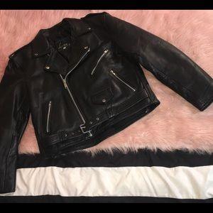 Lesco Leather ~ Vintage Genuine Leather Jacket